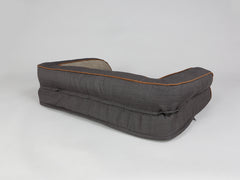 Hyde Sofa Bed - Espresso / Latte, Medium - 90 x 65 x 22cm