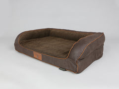 Exbury Dog Sofa Bed - Deluxe Edition - Espresso, Medium