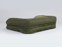 Country Dog Sofa Bed - Olive Green, Medium