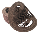 13 x 457mm Aluminium Oxide File Sanding Belts - Packs of 10 (40 Grit-120 Grit)