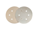 150mm 6 Hole 'Hook and Loop' Sanding Discs - Packs of 10