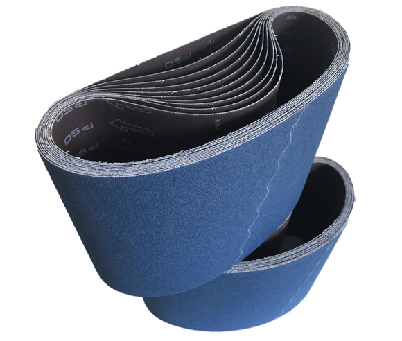 200mm x 750mm Zirconia Floor Sanding Belts - Pack of 10