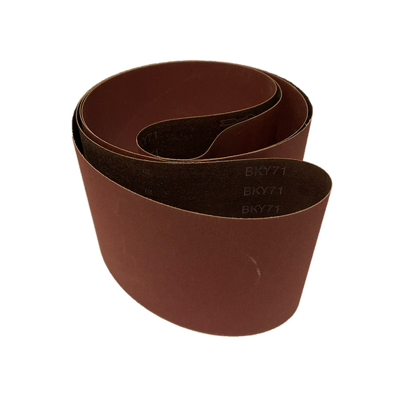 Aluminium Oxide Polyester Belt 150mm x 3450mm (120Grit - 240 Grit) Pack of 5