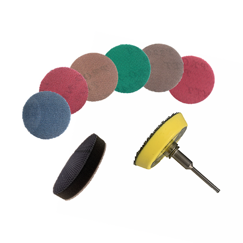 50mm PRONET AbrasiveNet Woodturning Drill Sanding Kit