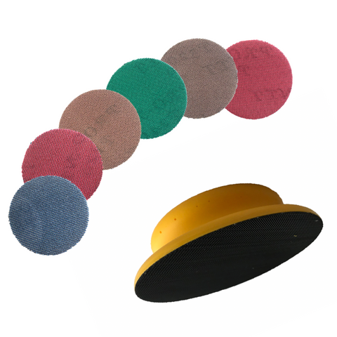 "125mm 5"" PRONET AbrasiveNet Hand Sanding Kit"