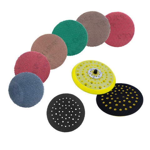 "125mm 5"" Multi-Hole Backing Pad Sanding Kit"