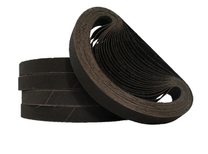 20mm x 520mm Silicon Carbide File Sanding Belts - Packs of 10