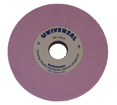 Universal Grinding Wheel 180mm x 13mm x 31.75mm (Medium hardness) 100 grit