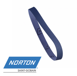 10 x 330mm NORTON R822 Premium Zirconia File Sanding Belts