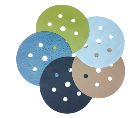 150mm Microfilm Sanding Discs - Packs of 10
