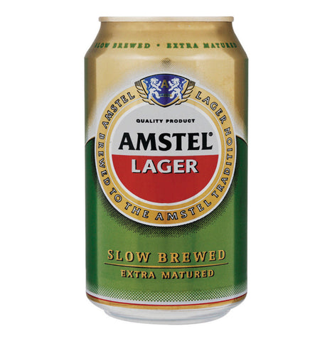 Amstel Lager 330ml. Festival Beer from FestEasy.
