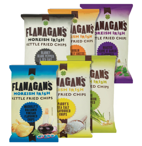Flanagan's Chips. Festival Snacks from FestEasy.
