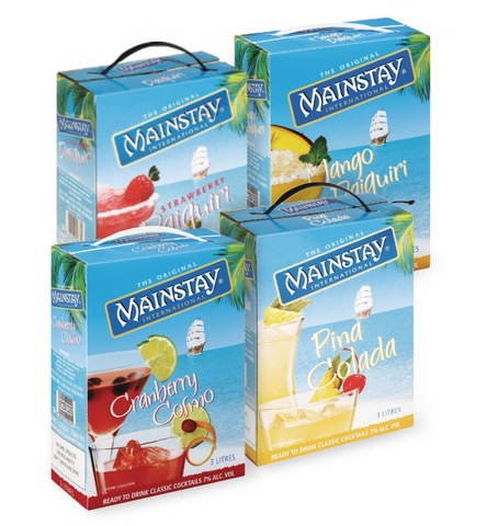 Mainstay Cocktails. Festival Coolers from FestEasy.