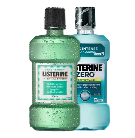 Mouth Wash. Festival Essentials from FestEasy.