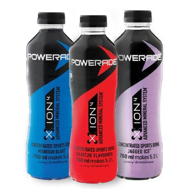 Powerade Concentrate. Festival Drinks from FestEasy.