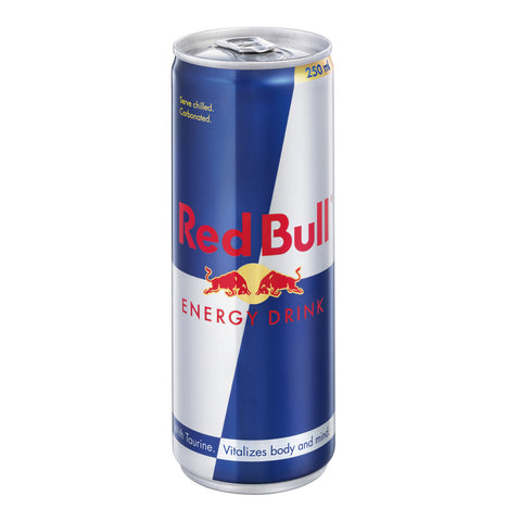 Red Bull 250ml. Festival Drinks from FestEasy.