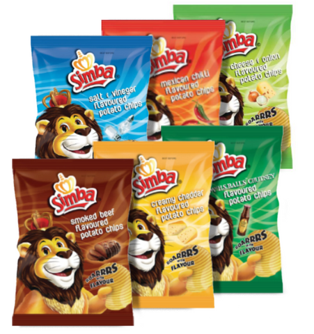 Simba Chips. Festival Snacks from FestEasy.