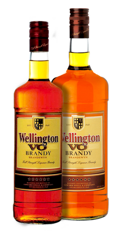 Wellington VO Brandy. Festival Spirits from FestEasy.
