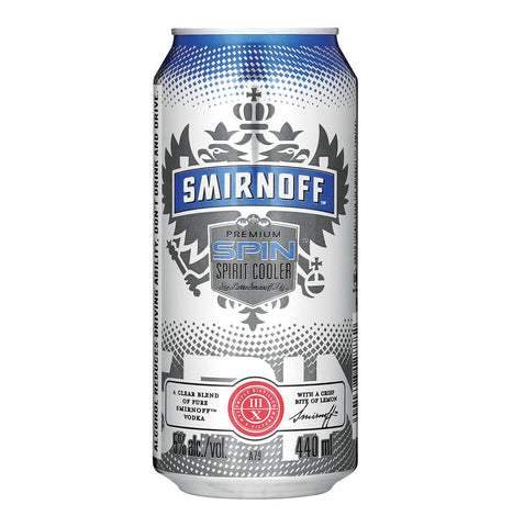 Smirnoff Spin 440ml 6 Pack. Festival Coolers from FestEasy.