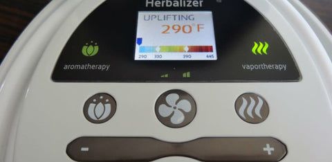 Herbalizer Temperature Settings