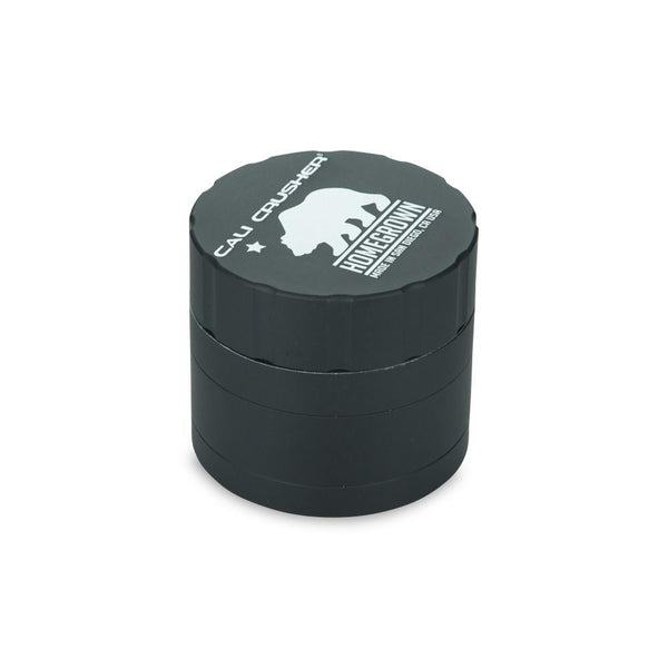 "Homegrown 2.35"" 4-piece grinder Black"