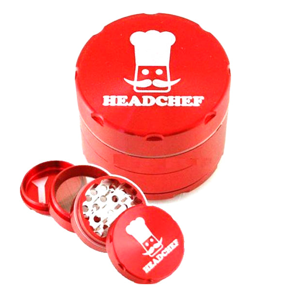 4 Piece Razor Grinder/Sifter 40mm GreenVapes UK