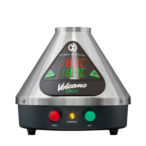 Volcano Digit Vaporizer Green Vapes UK
