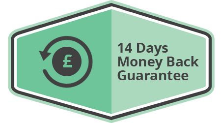 14 Days Money Back Guarantee!