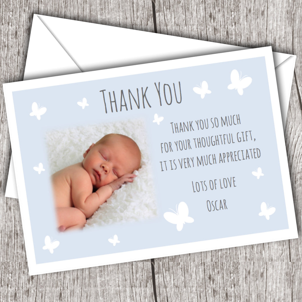 Baby Gift Thank You Card Packs : Thank you note baby gift gse bookbinder