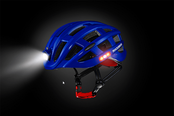 Casque Ultralight USB Leds 49-59cm