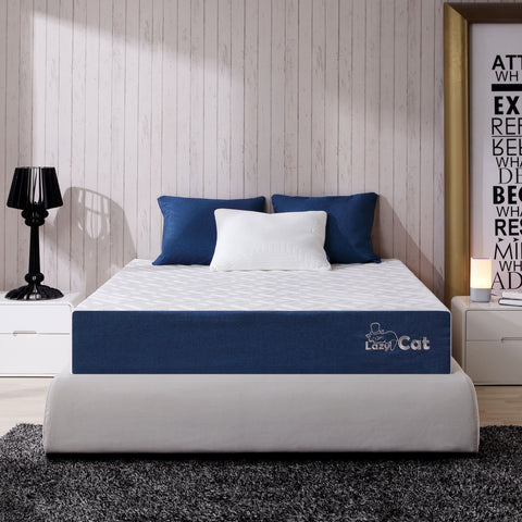 LazyCat Memory Foam Mattress 'Adapt2U' Memory Foam & Natural Latex Hybrid Mattress, 10 inch OpenCell Foam Mattress