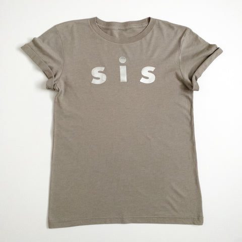 sis rolled cuff tee
