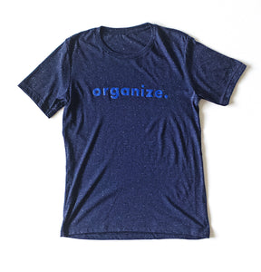 september organize speckled tee