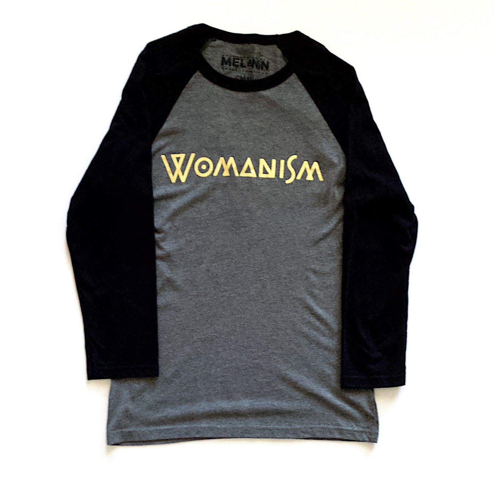 womanism baseball tee