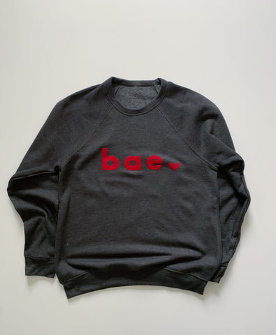 february '21 black(ish) bae sweatshirt