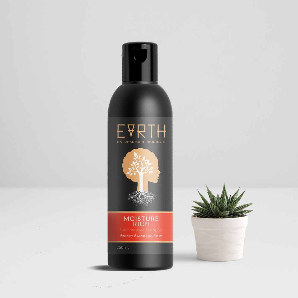 Earth Hair Moisture Rich Sulphate-FREE Shampoo
