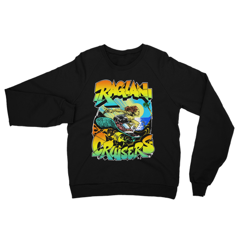 Raglan Free Rider Cotton Fleece