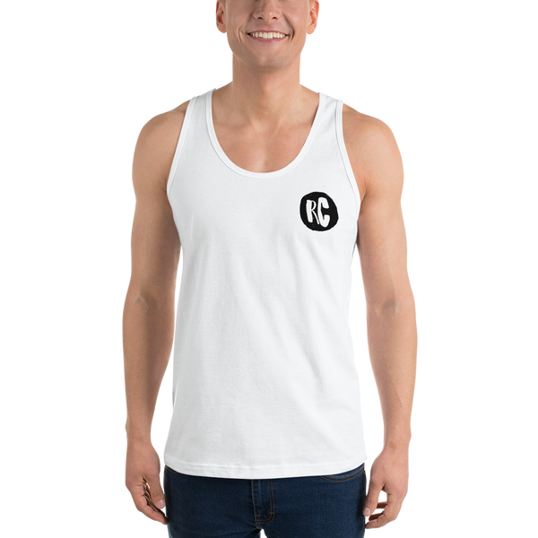 RC Black & White Singlet