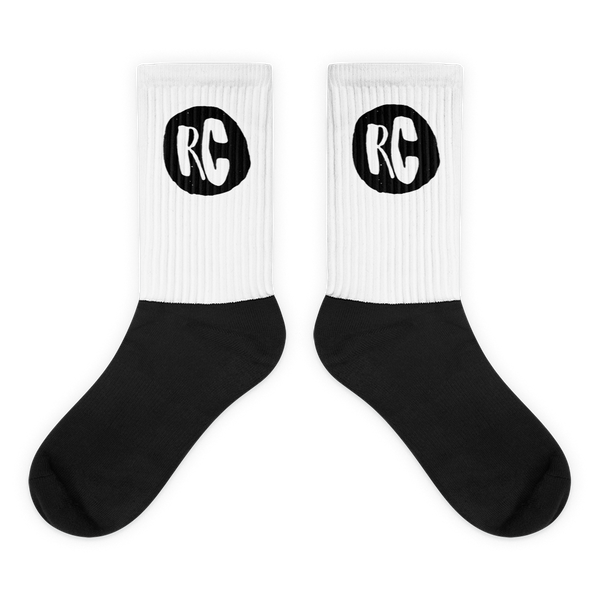 RC Black & White Socks