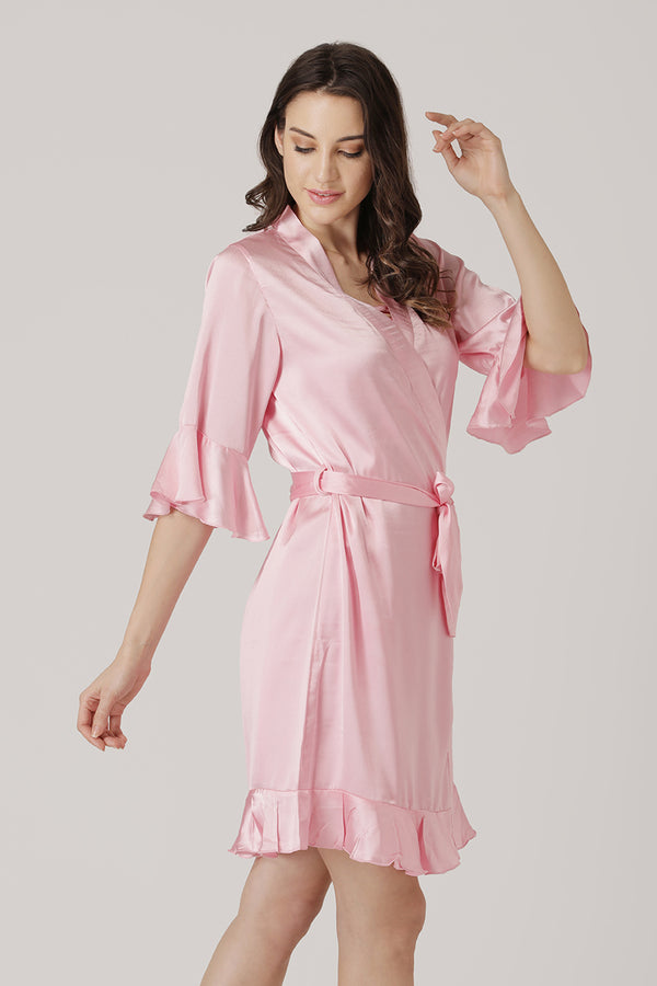 Fearless fun and exquisitely naughty nightgown set