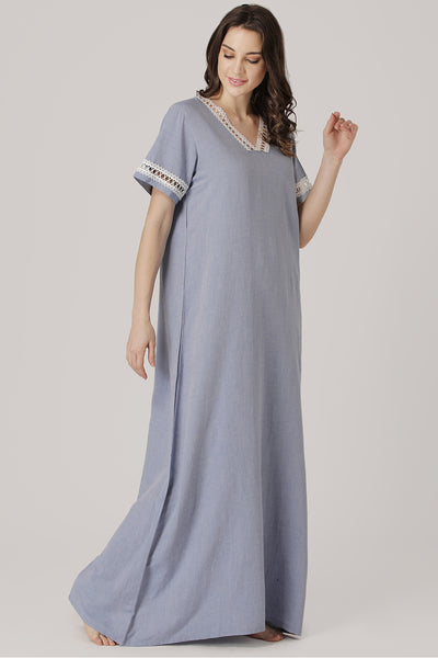 Pure cotton Nighty