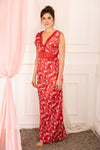 Private Lives Red Satin Strap Nighty - Private Lives