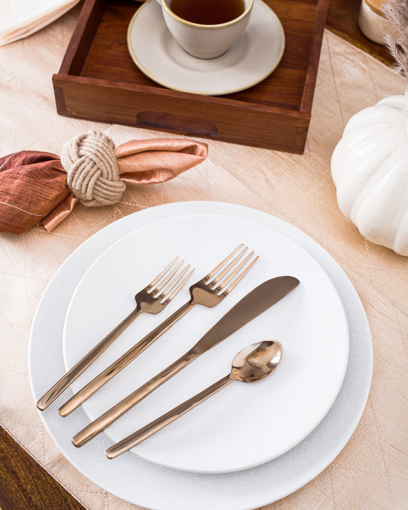 Rose Gold cutlery Set of 5