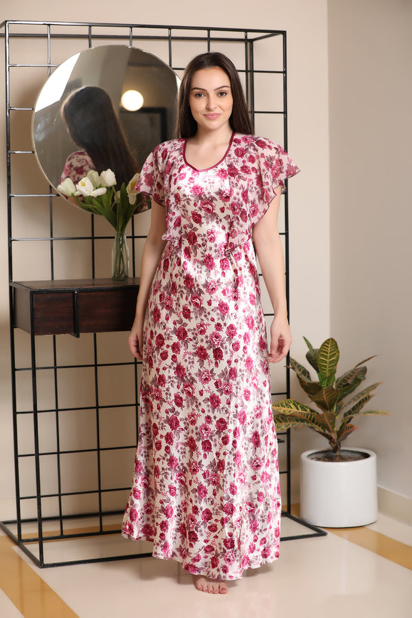 Feel-good floral nighty