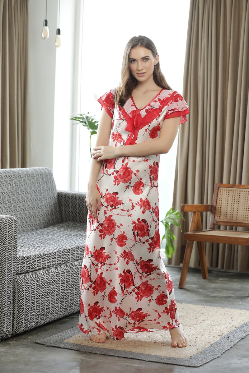 Flirty Floral Nighty