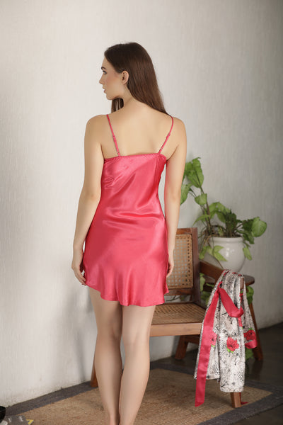 Satin Nightgown set