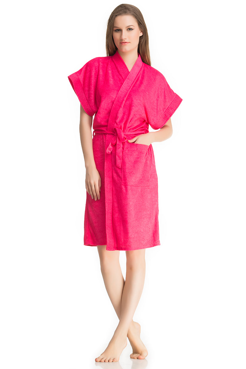Fuschia Bath Gown - Private Lives