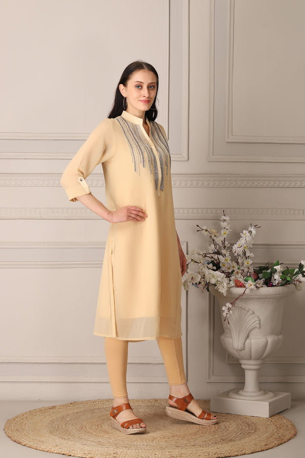 Graceful Gold kurti