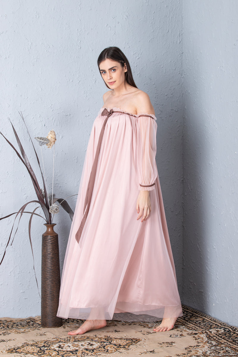 Baby Pink Designer collection Nighty