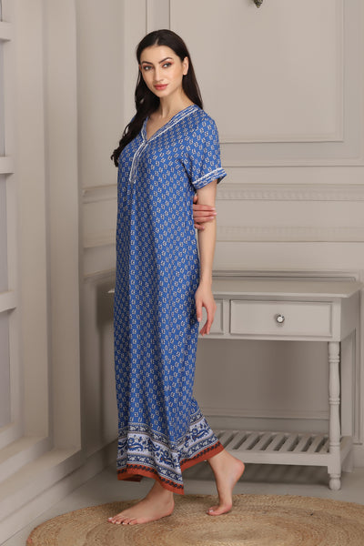 Comfy Fit Rayon Nighty